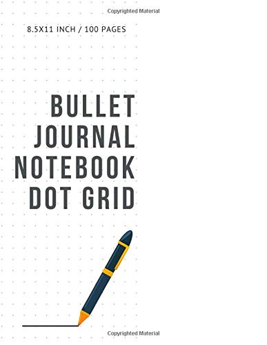 Bullet Journal Notebook Dot Grid: Cheap Composition Journals Books College Ruled To Write In Letter Paper Size 8.5 X 11 Volume 4 5-pocket-cord