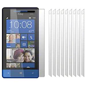 HTC Windows Phone 8S Screen Protector Case / Guard / Film / Cover 10-in-1 Pack