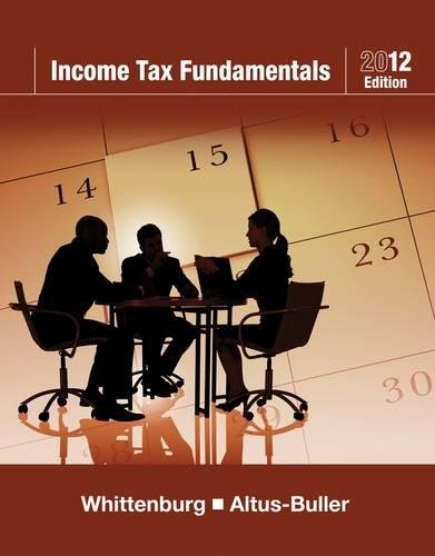Income Tax Fundamentals 2012 (with H&R BLOCK At Home¿ Tax Preparation Software CD-ROM) (H R Block Steuer-software)