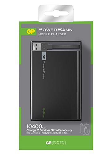 GP Batteries Power Bank (Batterie supplémentaire) 1 C10 A Li-ION 10000 mAh