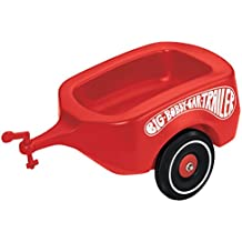 BIG Bobby-Car 1300 - Remolque para coche Bobby-Car, color rojo [importado de Alemania]