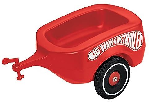 Big Bobby Car Trailer Anhänger, rot