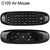 #9: ZAICUS C120 Air Mouse English Version No Backlit 2.4GHz Wireless Air Fly Mouse Keyboard Gyroscope for Android TV Box Bluetooth
