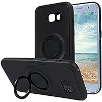 Galaxy A5 2017 Tasche Ring, Moon mood Drop Protection Shell 3 in 1 Hybrid Hülle mit Kickstand Finger Griff Halter... preisvergleich bei billige-tabletten.eu