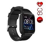 Ayete Smartwatch Fitness Tracker con frecuencia cardíaca Monitoreo de la presión Arterial Salud...