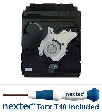 neuf-sony-ps3-lecteur-bluray-20-40-60-gb-models-kes-kem-400-bloc-optique-tournevis-nextekr-torx-t10-