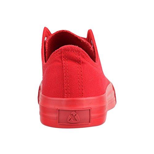 Elara Sneaker donna Rot one colour