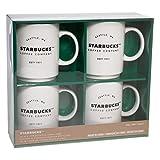 Costco - Tazze da caffè impilabili in ceramica, confezione da 4