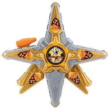 Power Rangers 43502 Ninja Stahl Morpher Spielzeug - Blaster und Morpher Mode - Ninja Stars