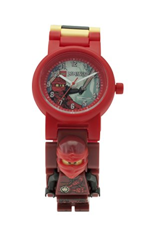 LEGO Ninjago Hands of Time Kai Minifigure Link Watch
