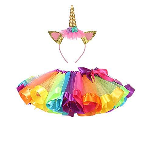 DIXIUZA Mädchen Kinder TüTü Röcke Kostüm mit