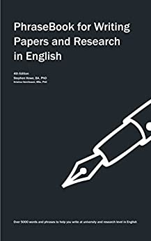 PhraseBook for Writing Papers and Research in English (English Edition)
