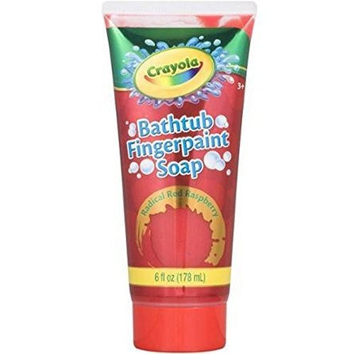 Crayola Bathtub Fingerpaint Soap 6oz Assorted by Crayola (Crayola Fingerpaint)