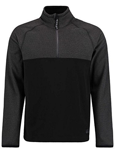 O'Neill Herren Ventilator Half Zip Fleece, Black Out, L (Woven Oneill-shirt)