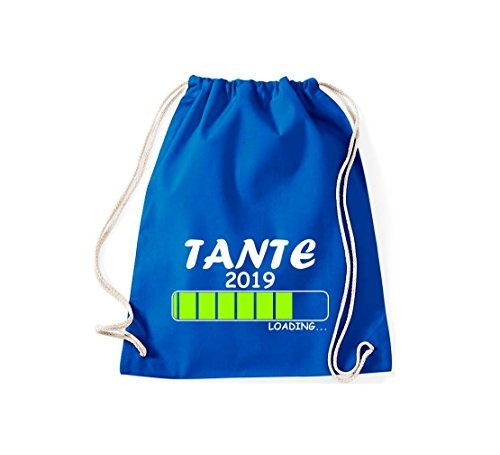 ShirtInStyle Gym Sack Turnbeutel Loading TANTE 2019 Royal
