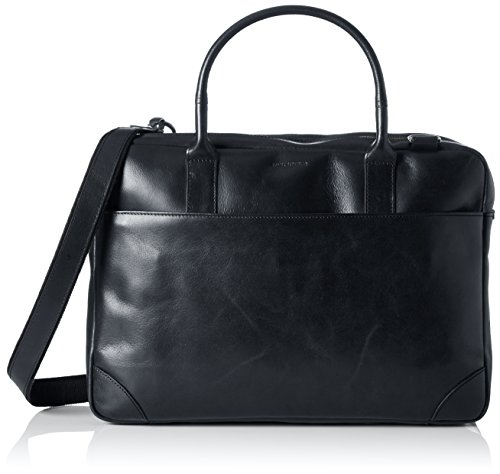 Double Tasche (Royal Republiq Unisex-Erwachsene Explorer Double Laptop Tasche, Schwarz (Black), 12x29x41 cm)