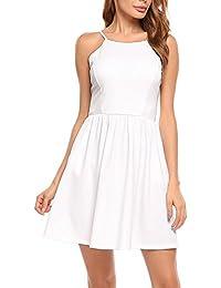 Auf Kleid Suchergebnis FürSpaghettiträger Weiß uT1cFKJl3