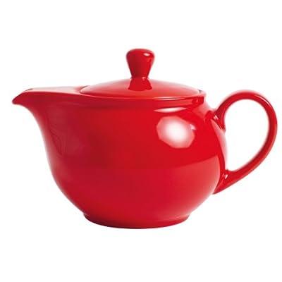 Kahla - Porcelaine pour les Sens 571401A60005C Pronto Colore Théière Rouge 10 x 9,5 cm