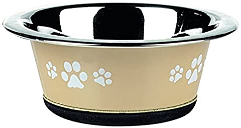 Classic Pet Products Classic Posh Paws Cat Dish, 240 ml, Natural