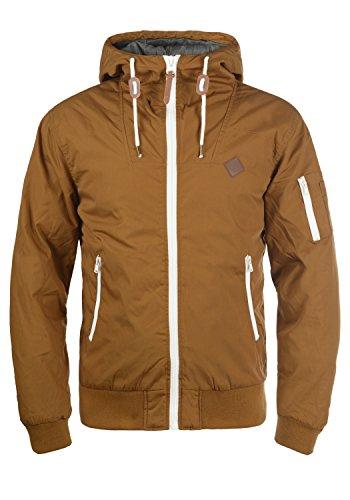 SOLID Tilly Herren Übergangsjacke Jacke mit Kapuze aus robustem und  hochwertigen Material Test. PRODUKT Pieder Herren Parka lange Winterjacke  ... 9377cb6e83
