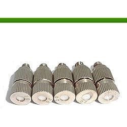 Brumicold Pack de 5embouts avec deflector céramique pour nebulización en haute pression de 0.2(20-120bar)