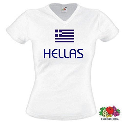 Hellas / Griechenland Damen T-Shirt WM 2014 Trikot|m