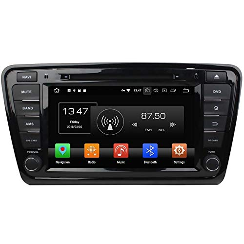 TAFFIO® Skoda Octavia 3 Android 8 Autoradio GPS Navi Touchscreen Bluetooth USB SD WiFi