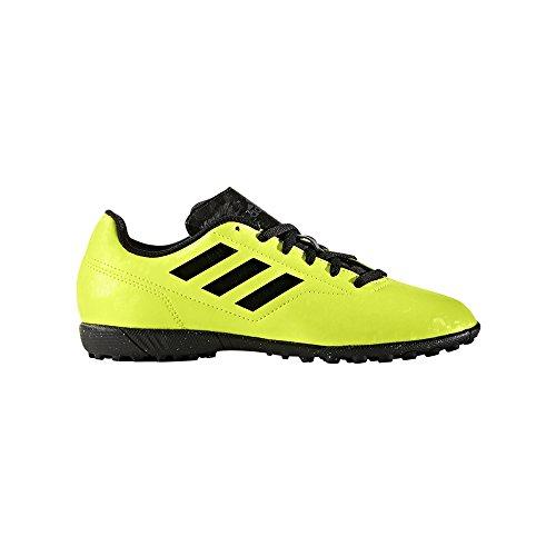 Adidas Conquisto II TF J AQ4335 Giallo Sneakers Bambino Scarpe Sportive Calcetto Giallo