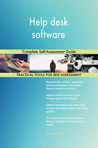 Help desk software Complete Self-Assessment Guide (English Edition)
