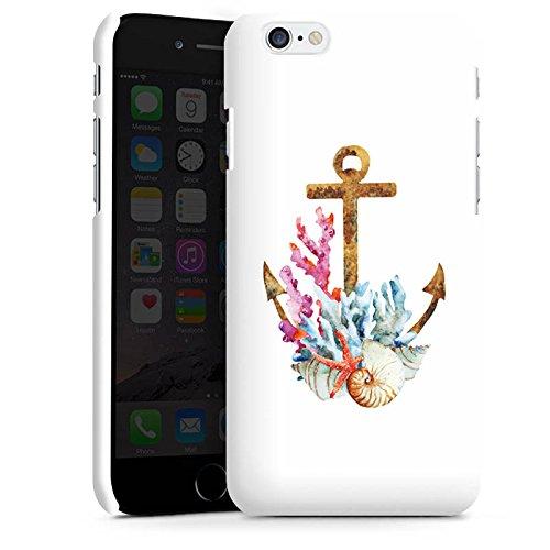 Apple iPhone X Silikon Hülle Case Schutzhülle Anker Maritim Sommer Premium Case matt