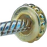 Dots Tapón con núcleo de goma bañado en oro de 14K auténtica plata de ley 925Bead Pandora Chamilia Biagi Troll encantos Europen estilo pulseras