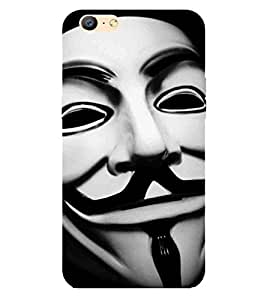 Cartoon, Black, Cartoon and Animation, Printed Designer Back Case Cover for Oppo A57