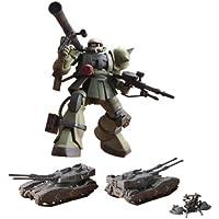 Bandai Hobby MS-06 Zaku The Ground War Set 1/144 - UC Hard Graph