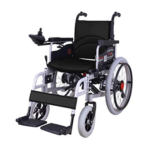 T-silla de ruedas Silla de ruedas eléctrica, anciano andador, plegable, multifuncional inteligente, silla de ruedas totalmente automática para personas con discapacidad.