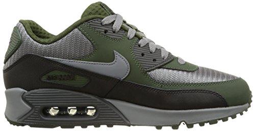 Nike Air Max 90 Essential, Chaussures de Running Entrainement Homme Grau (Cool Grey / Black Green)
