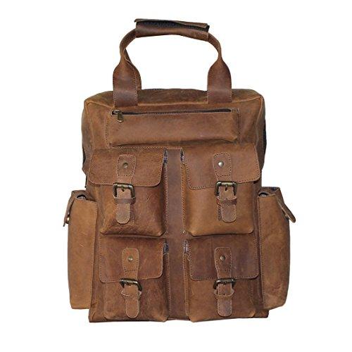 Preisvergleich Produktbild LUST Fahrradrucksack, Vintage Brown (braun) - BBP-17