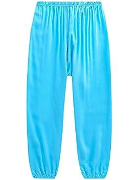 Mengyu Los Pantalones del Verano del Caramelo de Las Mujeres Bloomers Anti-Mosquito Pantalones Largos del Pijama...