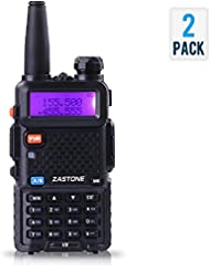 Emperor of Gadgets Two-Way Radio VHF / UHF Dual Band Radio Transceiver Talkie Walkie Set (une paire)