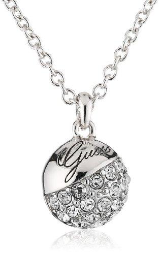 Guess-Damen-Halskette-Metall-mit-Logo-UBN71267