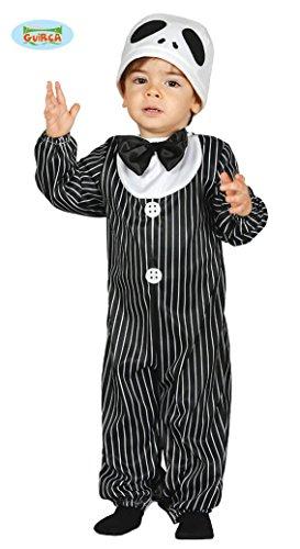 Baby Skelettkostüm Kostüm Skelett für Kinder Kinderkostüm Halloween Gr. 86-98, Größe:92/98