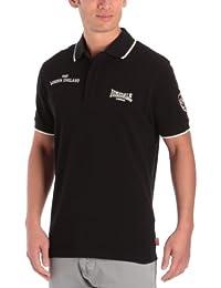 Lonsdale Herren Langarmshirt Poloshirt PREMIUM