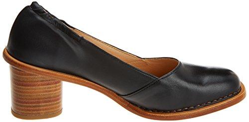 Neosens S577 Peau Restaurée Ebony / Debina, Chaussures À Bout Fermé Orteil Femme Noir (ébène)