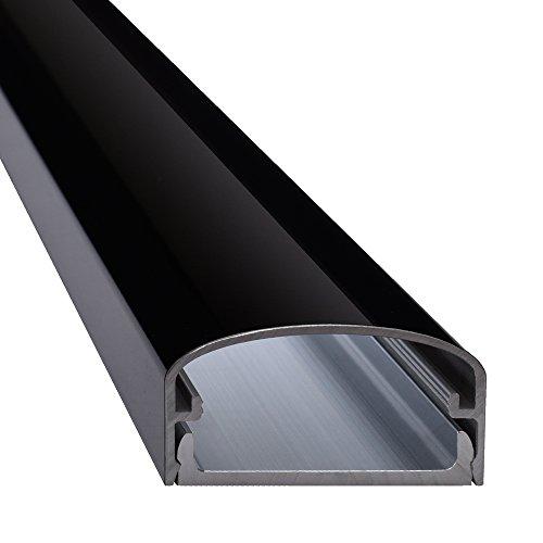 Design-schwarzes Finish Metall (Design Alu Kabelkanal