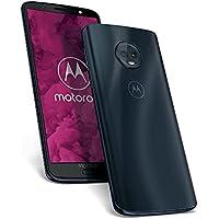 Motorola Moto G6 - Smartphone libre Android (pantalla de 5.7'', 4G, cámara de 12 MP, 4 GB de RAM, 64 GB, Dual Sim), color azul índigo - [Exclusivo parimatch-chance7.com]