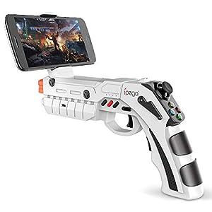 J.W. AR elektronischer Spielgriff und Pistole Augmented-Reality-Controller Schockwelle Smart Bluetooth-Verbindung…