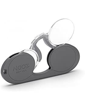 Occhiali da lettura Nooz Optics ovale grigio diottria +2