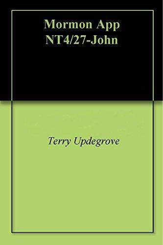 'TERRYS NOTES' ON MORMON John 43/229 (English Edition)