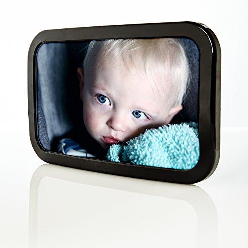 smileBaby verstellbarer Auto Babyschalenspiegel Rücksitzspiegel