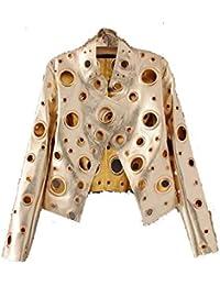 b3dae4ddb8 Amazon.it: Oro - Giacche e cappotti / Donna: Abbigliamento