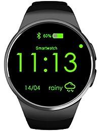 Smartwatch, Elegant Bluetooth Smart Watch Teléfono Inteligente con Pulsometro, Pulsera Actividad con Monitor de sueño/ Contador De Pasos Compatible con IOS y Android